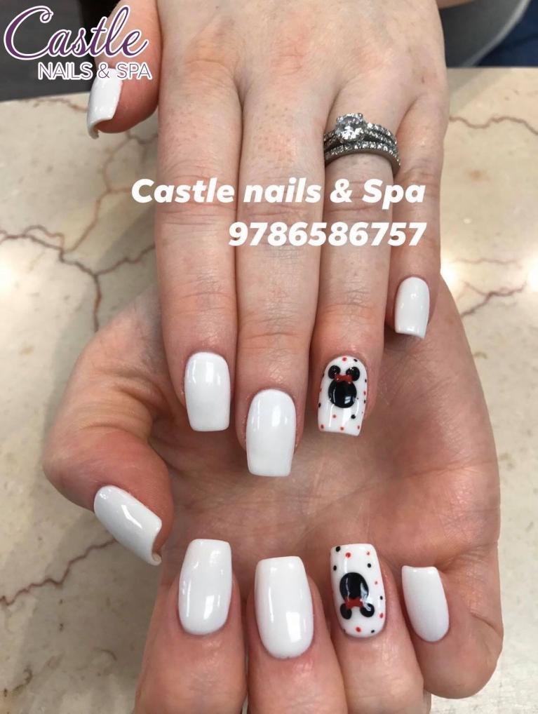 Castle Nails & Spa   Nail salon 01876   Tewksbury MA
